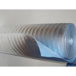 Вспененный полиэтилен ламинированный AL фольгой (самоклеящийся) СФ 8