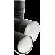 Труба гофрированная с раструбом SN8 - SN9 ID 290/250